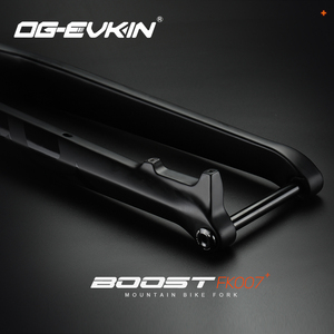 OG-EVKIN FK-007 29er Thru Axle 15x110 мм Carbon передняя вилка для горных велосипедов 1-1/8 дюйма-1-1/2 дюйма вилка MTB, запчасти для горного велосипеда