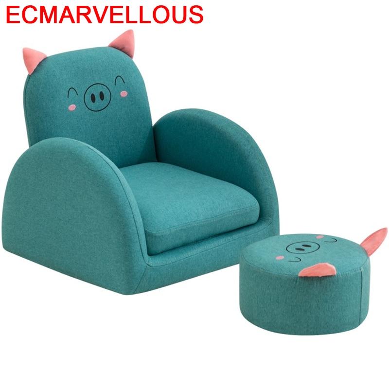 Pufy Do Siedzenia Lazy Boy Recamara Cute Kids A Coucher Relax Chair Chambre Enfant Baby Dormitorio Infantil Children's Sofa