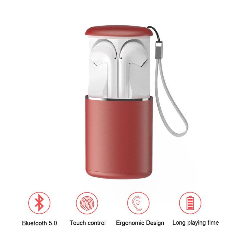 M9 Earphone BT 5.0 TWS Wireless Bluetooth Earphone Stereo Ergonomic Design Noise Reduction Earbuds Fone De Ouvido 40SEP1123