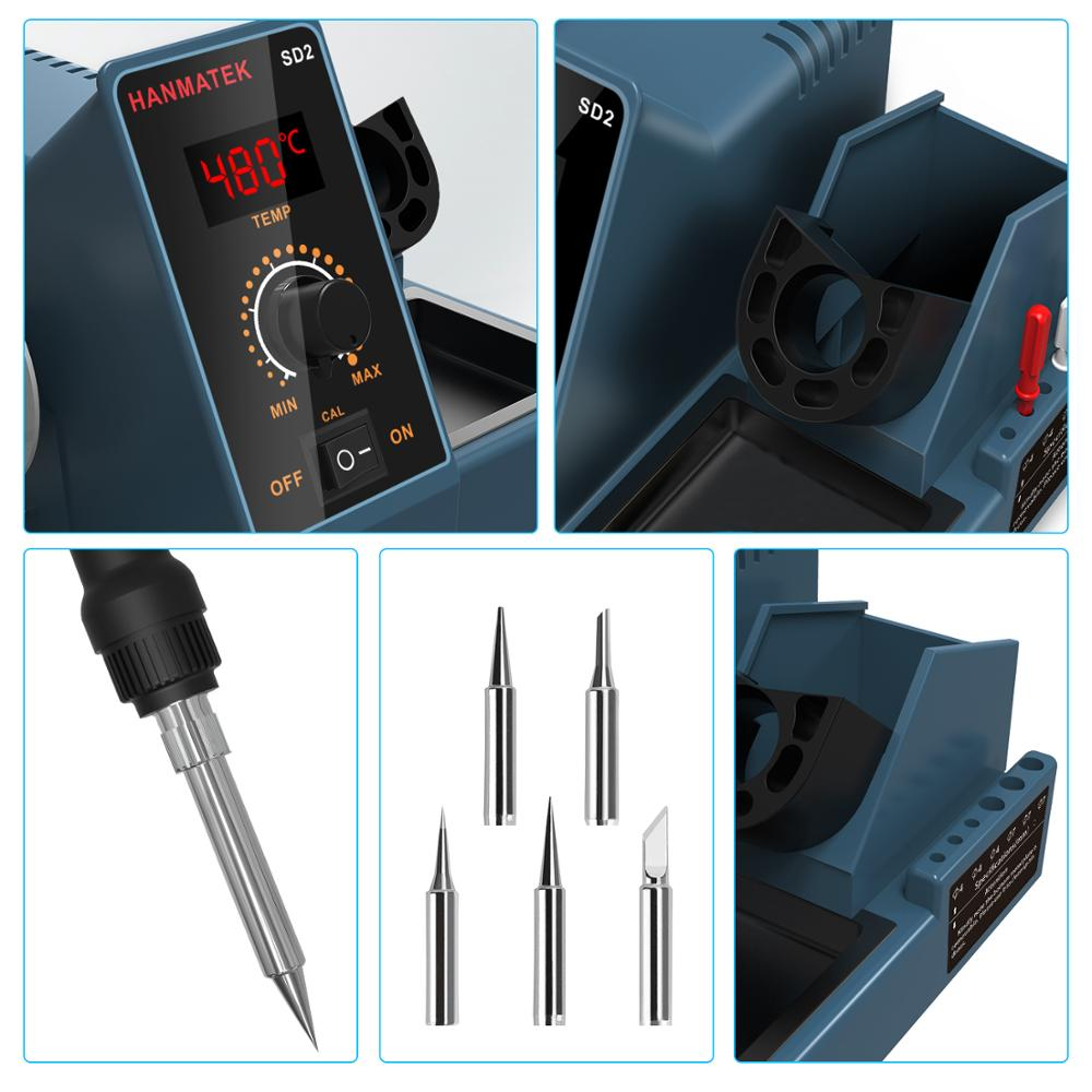 Rework  Soldering PCB Station BGA  For Control ESD SMD HANMATEK Welding Phone Temperature  IC SD2 Stations 60W Digital