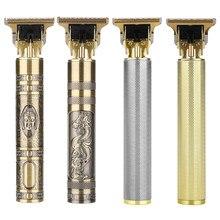 Tondeuse électrique T9 Rechargeable pour hommes, appareil pour couper les cheveux et raser les cheveux, barbier