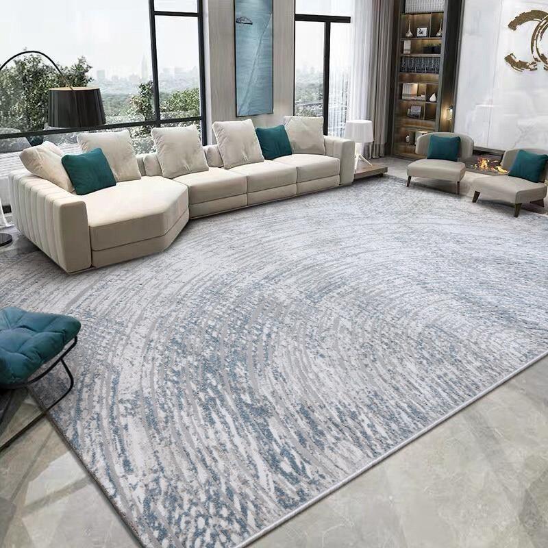 Modern Light Luxury Carpet Living Room Nordic Bedroom Carpet Thick Rug Sofa Coffee Table Floor Mat Study Room Area Rugs Kid Mats