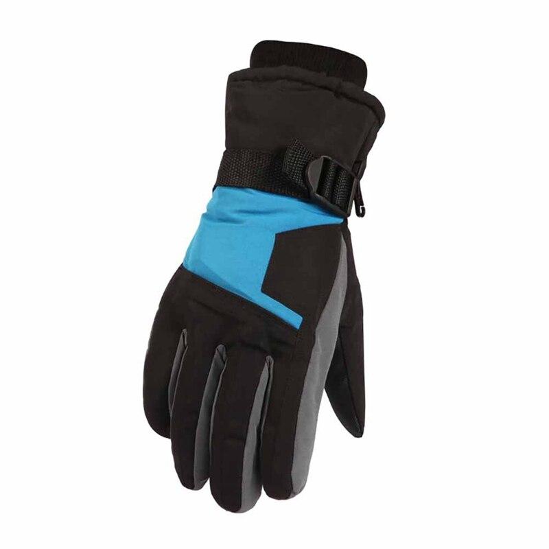 Luvas de Esqui Resistente à Água Sportswear ao ar Homens Completa Dedo Grosso Térmico Handwear Inverno Motocicleta Equitação Ciclismo Livre Accesso