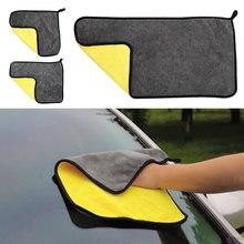 Плюшевый комплект для мытья автомобиля, моющая ткань из микрофибры, мягкое полотенце микрофибра, полотенце для автомобиля, супер абсорбент, очищающая ткань для 30*40