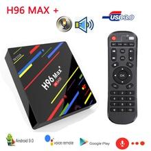 Best H96 MAX Plus RK3328 Smart TV BOX Android 9.0 Media Player H96Max+ andorid tv boxes USB3.0 IP Set Top Box