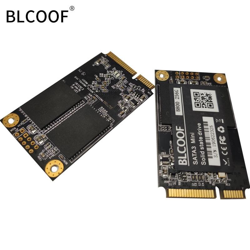 Disco duro ordinateur portable msata SSD disque SSD interne SATAIII 256GB MLC HD disque dur haute vitesse lecture ordinateur - 5