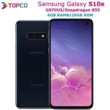 Samsung galaxy celular s10e g970u g970u1, telefone android original lte, snapdragon 855, octa core, tela 5.8