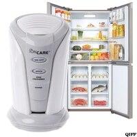 Refrigerador aire ozonizador purificador de aire para el hogar desodorizador ozono ionizador generador esterilización filtro germicida nevera fresca|fridge fresh|deodorize refrigerators|refrigerator deodorizer -