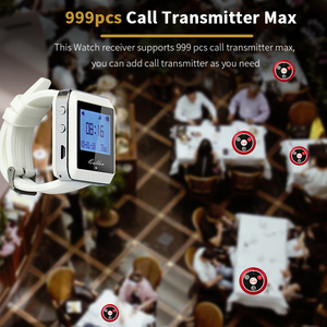 Image 4 - Retekessレストランポケットベル 3 個の時計受信機 + 20 個T117 コールボタンコールウェイターワイヤレス通話システムレストラン機器