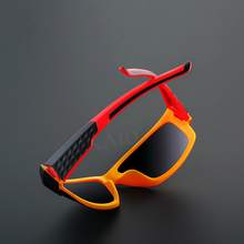 KARL New Polarized Sunglasses Men Driving Shades Red frame Vintage Sun glasses women Goggle UV400