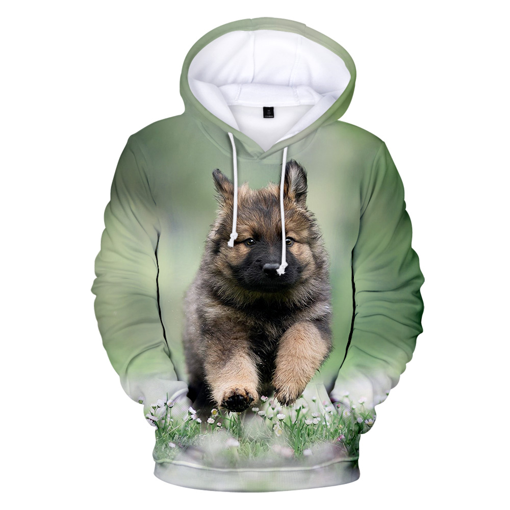 Newest german shepherd 3D Hoodies Men/women sweatshirt High Quality Pullover Dog lovers men/women 3D Men's hoodies Sportswear