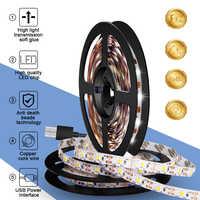 EU Plug Charger US Adapter USB Power Supply Cable Led Strip Light Waterproof Lamp 220V Tape Led Ribbon DC 5V Light Strip Fita