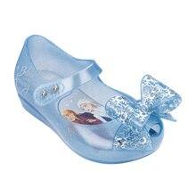 Disney congelado elsa princesa meninas meninos sandálias crianças sandálias animais mini melissa crianças sapatos linda melissa sandálias