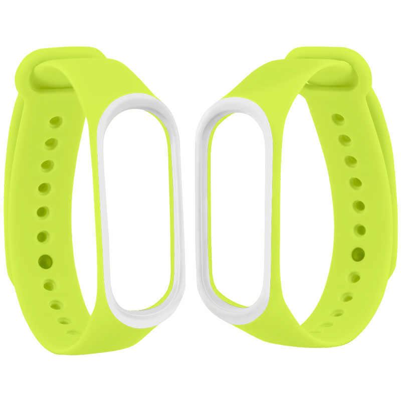 20 צבעים חכם להקת רצועת עבור Xiaomi Mi band 4 3 רצועת סיליקון רצועת יד תחליף Miband 4 3 צמיד שעון רצועה