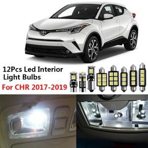 Image 5 - 1Set Led Drl Voor Toyota C HR Chr 2016 2017 2018 2019 Dagrijverlichting Achterlichten Bumper Mistlamp remlichten Waarschuwingslampje
