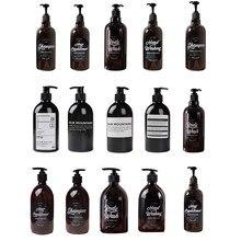 Butelka na szampon dozownik łazienkowy płynny żel pod prysznic szampon butelka z pompką mydło butelka wielokrotnego użytku