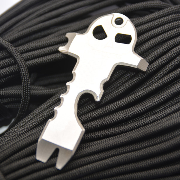 Aotddor Outdoor Multipurpose Tools EDC Carry-on Tool Size Eye Skull-Camping Supplies