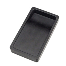1pc Student Calligraphy Inkstone Two-sided Inkslab Lightweight Portable Inkstone