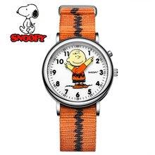 Disney 2020 New women men kid Boy Girl Wrist watch Genuine Brand Casual Fashion Quartz Wristwatches Leather clock waterproof 853