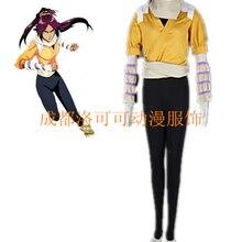 Anime Bleach Shihouin Yoruichi Cosplay Costume Halloween Par
