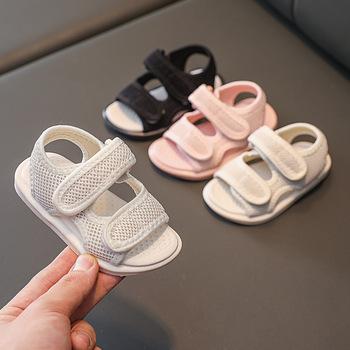 Summer Baby Girls Boys Sandals Infant Toddler Shoes Children Soft Bottom Casual Beach Shoes Non-slip Kids First Walkers Shoes tanie i dobre opinie WENWENDEXINGFU CN (pochodzenie) Lato W wieku 0-6m 7-12m 13-24m 25-36m 4-6y 11 5cm 12cm 12 5cm 13cm 13 5cm 14cm 14 5cm 15cm