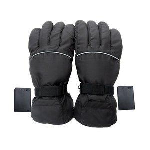 4.5V Electric Gloves Winter Warm Gloves Battery Box Power Supply Ski Windproof Cotton Heating Gloves Fingers Hand Back Heating|Stove Hand Warmers| |  -