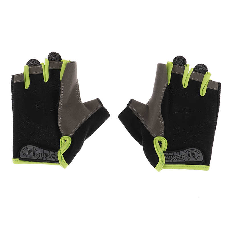 MTB Mountain Bike Cycling Half Finger Gloves Sport Bicycle Riding Fingerless
