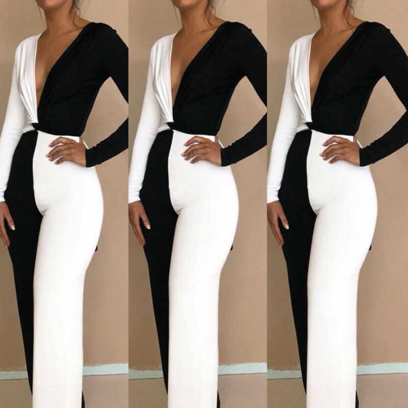 2019 New Women Ladies Casual Summer 2 Piece Clothing Set Bodycon Long Sleeve Cross T Shirt Long Pants Outfits Party Clubwear