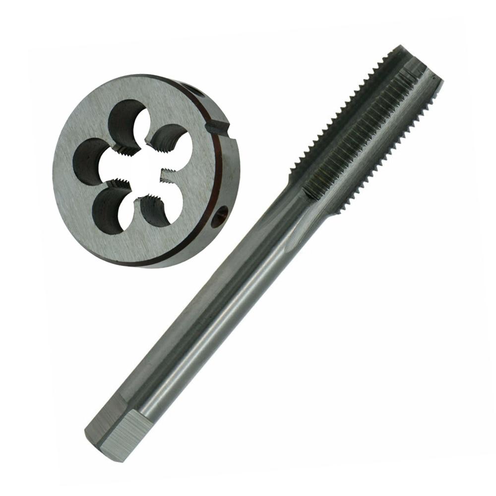 1set HSS M8 x 0.75mm Plug Left Hand Tap and Die Metric Threading Tool