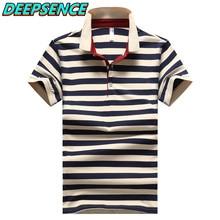 2021 verão novos homens srtiped camisa polo curto 95% algodão inteligente casual respirável botão moda magro curto polos camisa dos homens
