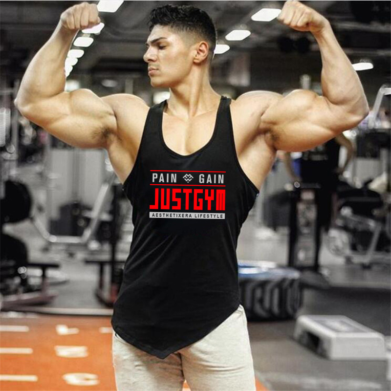 Men Compression Fitness Tights Tank Top Elasticity Cotton Sleeveless Shirt Summer Gym Clothing Mens Running Sport Vest