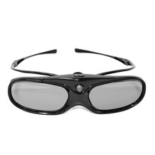 Active Shutter Eyewear Detachable Temples DLP Link 3D Glasses for Optoma/BenQ/Sharp/Acer/Samsung Projector(China)