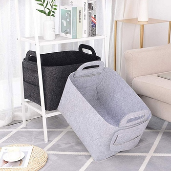 Foldable Laundry Basket With Handle For Clothes And Baby Product