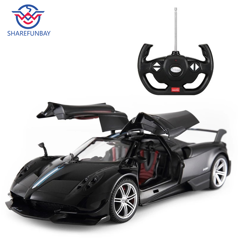 RASTAR Rc Car 1:14 Pagani Aeolus Remote Control Car Usb Charging Open Door Children's Electric Remote Control Toy 75460
