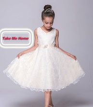 princesse robe dentelle maille