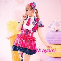 Cosplay Costume Anime Bang Dream! Ichigaya Arisa Poppin'Party