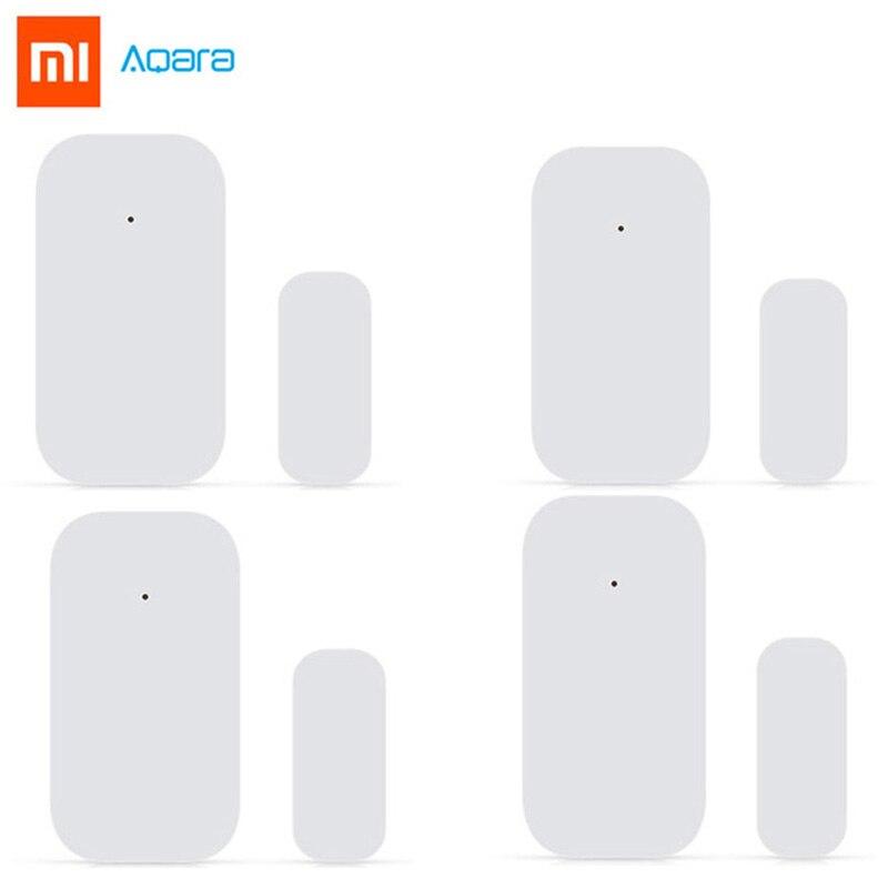 Xiaomi Aqara Door Window Sensor Zigbee Wireless Connection Smart Mini Door Sensor Work With Android IOS App Control Smart Home