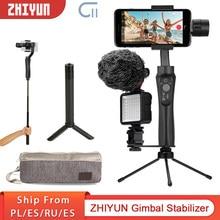 Zhiyun cinepeer c11 gimbal smartphone 3-axis handheld cardan estabilizador câmera cardan estabilizador para iphone/samsung/xiaomi