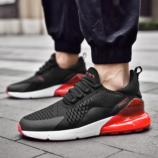 Men Sneakers Breathable Air Mesh Outdoor Sport Shoes Spring Autumn Couple Cushion Flats Training Running Shoes Zapatos De Hombre 3