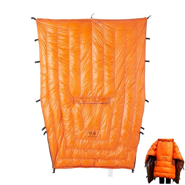 ASTAGEAR Quilt 20D Sleeping Bag  95% White Duck Down