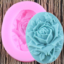 Silicone Mold Decorating-Tools Chocolate-Moulds Polymer-Clay Rose-Flower Fondant Cake
