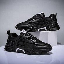 Mężczyźni buty w stylu casual Tenis oddychające Krasovki zasznurować luksusowe mody ulicy Trend świetlne tenisówki męskie Chaussure Homme Zapatillas 46