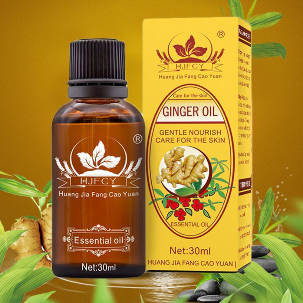 1 шт. Королевский травяной имбирный массаж, эфирное масло, массаж тела, масло для ароматерапии, спа, Дезодорирующий, для укрепления здоровья, ...