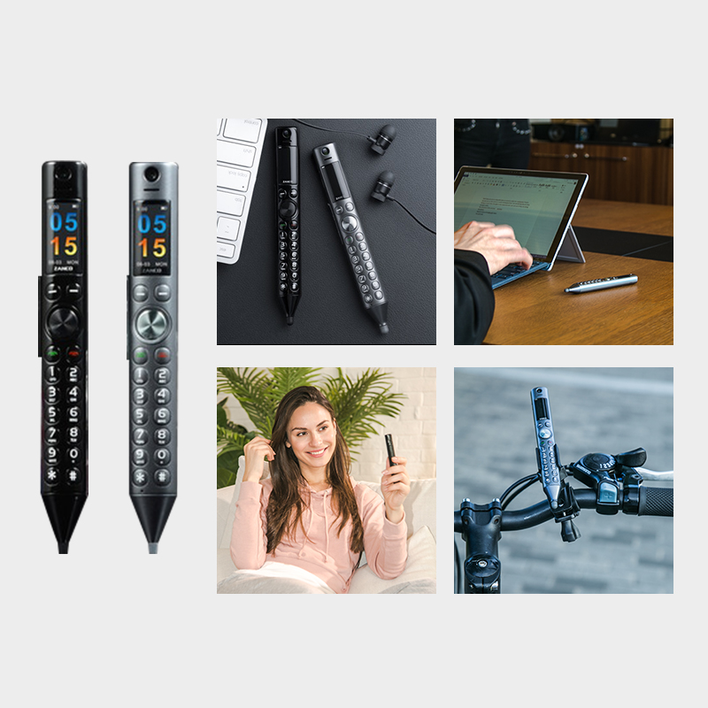 2pcs ZANCO Smart Pen World Thinnest Mobile Phone -Special Offer Portable New Pen Shape Mobile Phone Recording Pen