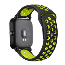 Watch Bracelet Bip-Strap Silicone-Band Amazfit 2e/stratos 2e/gts2 Mini/gtr 20mm/22mm