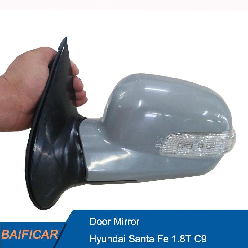 Зеркало заднего вида Baificar, Брендовое зеркало с поворотным сигналом, 87610 26010 для Hyundai Santa Fe 1,8 T C9|Зеркала и крышки|   | АлиЭкспресс