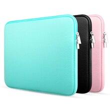 Мягкая сумка для ноутбука Macbook air Pro Retina 11, 13, 14, 15 лет, плотно прилегающий чехол крышка для xiaomi ноутбука Dell Lenovo ноутбука Лидер продаж