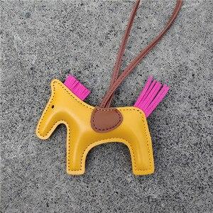 Модный дизайн, известный бренд, лошадь, копыта, подкова, натуральная кожа, брелок, Подвеска для женщин, женская сумка, шарм, украшение, подарк...