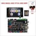 MKS SBASE + MKS TFT32 V4.0 pantalla colorida + impresora 3d dispositivo WI-FI kits de control de la impresora 3D monitor de smoothieware integrado