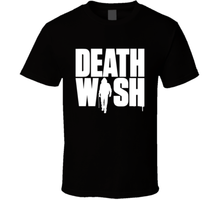 Death Wish T Shirt movie poster Bruce action crime thriller 2019 Black Tee New(China)